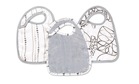 Aden + Anais Bamboo Snap Bibs 3 Pack- Moonlight