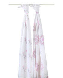 A+A CLASSIC MUSLIN SWADDLE 2 PACK FOR THE BIRDS