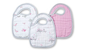 Aden + Anais Snap Bib 3 Pack- For The Birds
