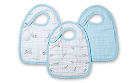 Aden + Anais Snap Bib 3 Pack- Liam The Brave