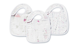 A+A SNAP BIBS 3 PACK LOVELY