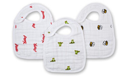 A+A SNAP BIBS 3 PACK MOD ABOUT BABY