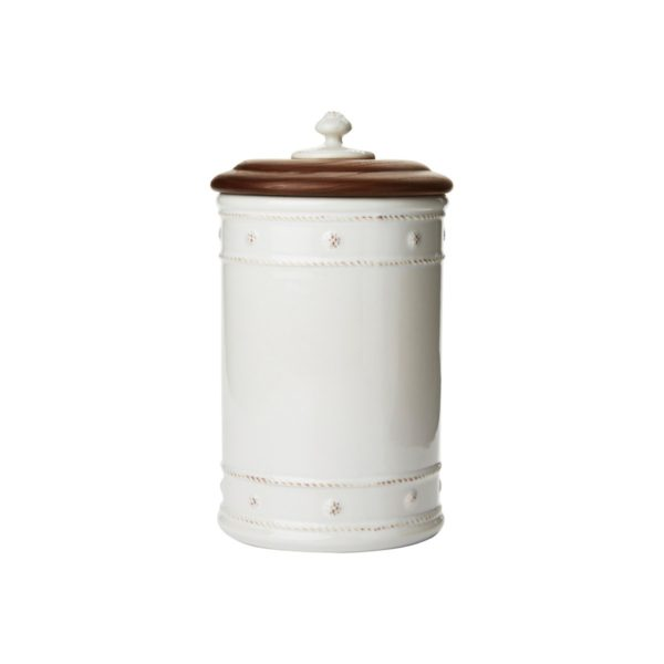 Juliska Berry & Thread Small Canister With Wooden Lid