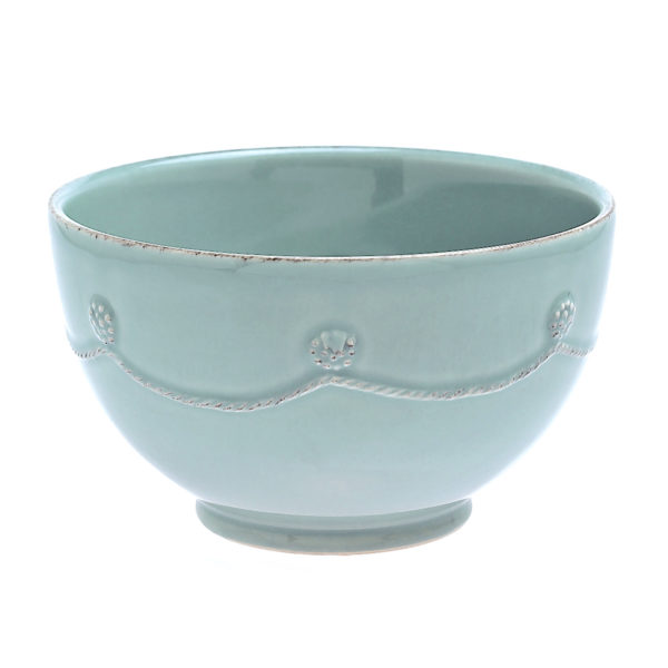 B&T ICE BLUE CEREAL BOWL