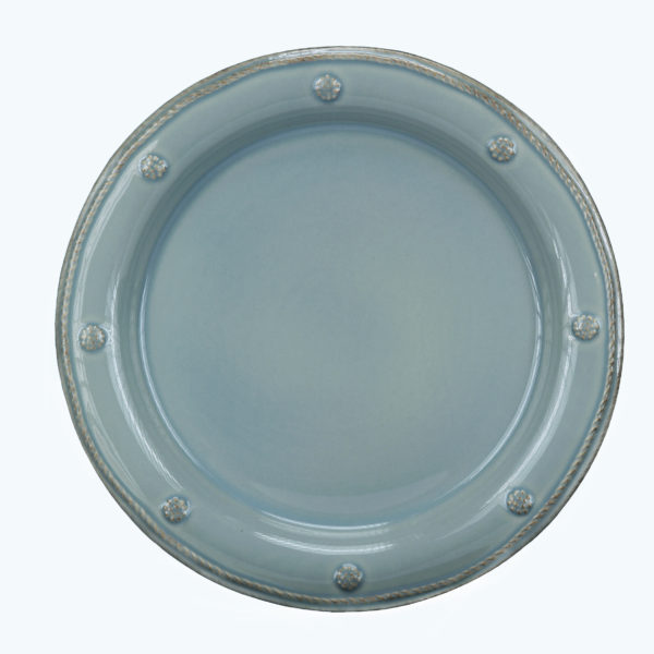 B&T ICE BLUE DINNER PLATE