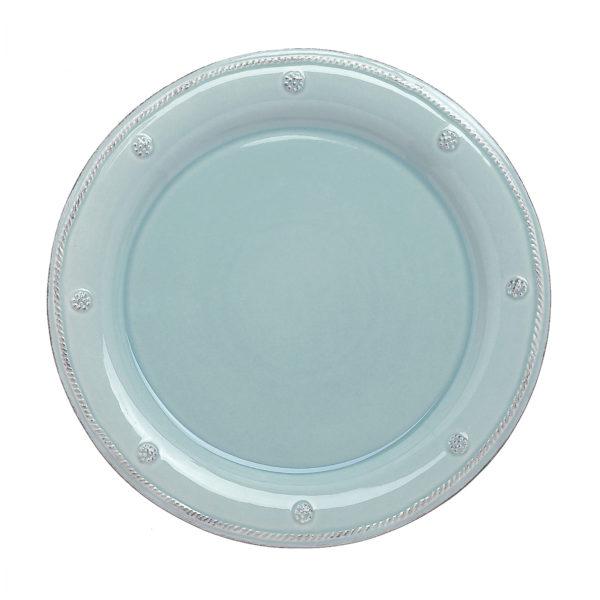 B&T ICE BLUE ROUND SALAD PLATE