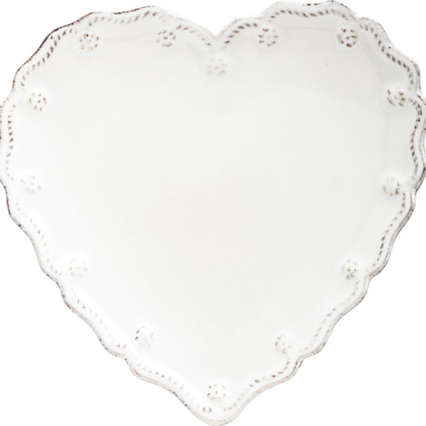 Juliska Berry & Thread Heart Cocktail Plates Set Of 4