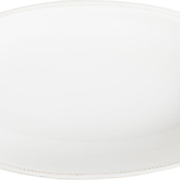 B&T WHITEWASH LG SHALLOW BAKER TOP