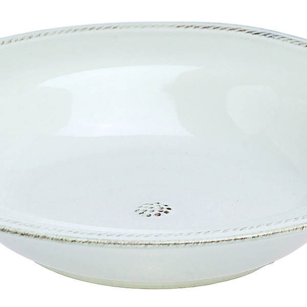 Juliska Berry & Thread White Rimmed Soup Bowl