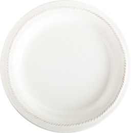 B&T WHITEWASH  ROUND SALAD PLATE