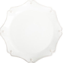 B&T WHITEWASH SCALLOP CHARGER