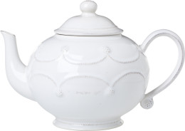 B&T WHITEWASH TEAPOT