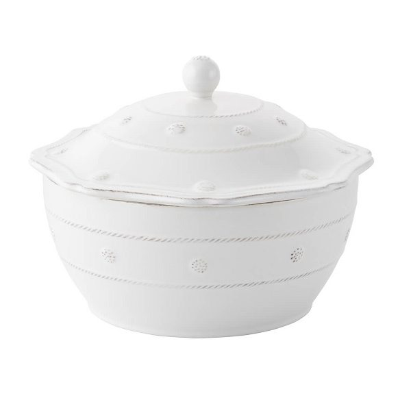 Juliska Berry And Thread Small Oval Covered Casserole