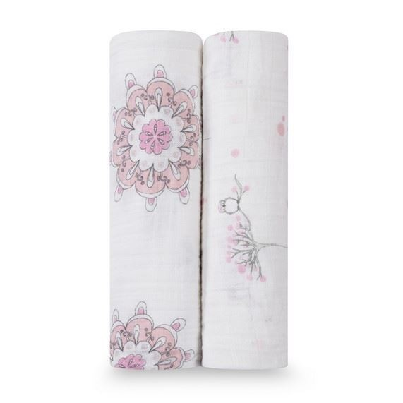 Aden + Anais For The Birds Classic Swaddle 2-Pack