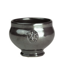 JULISKA PEWTER FOOTED SOUP BOWL