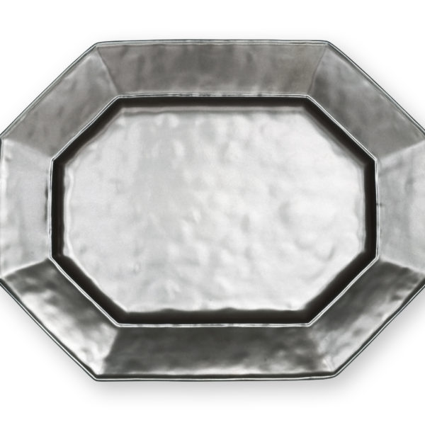 Juliska Pewter Large Octagonal Platter