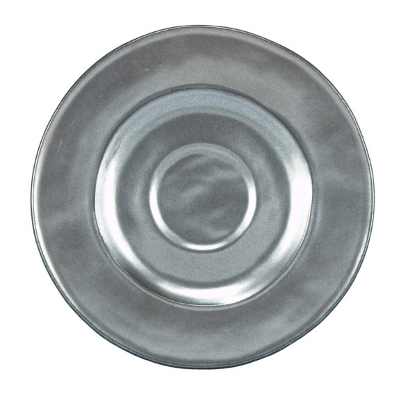 Juliska Pewter Round Saucer