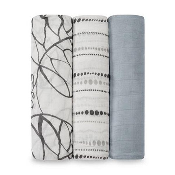 Aden + Anais Moonlight Bamboo Swaddle 3-Pack