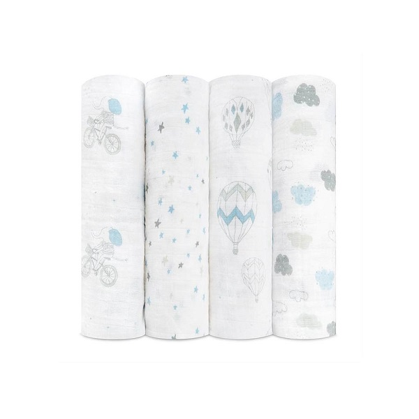 Aden + Anais Night Sky Reverie Classic Swaddle 4 Pack
