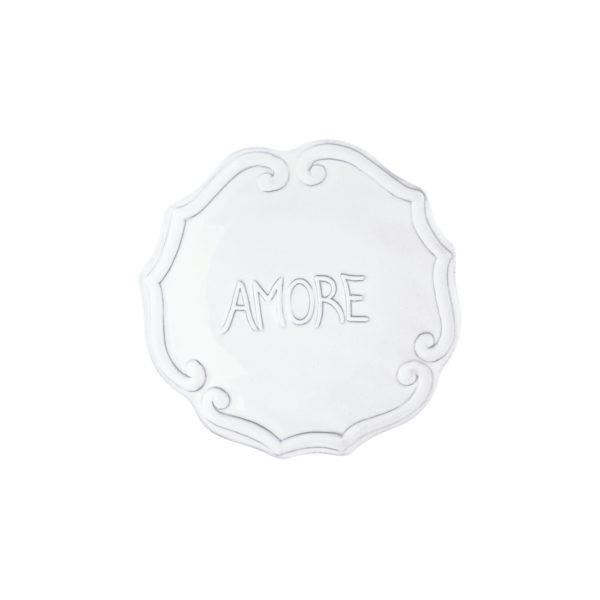 Vietri Incanto Amore Plate