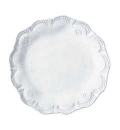 VIETRI INCANTO LACE DINNER PLATE WHITE