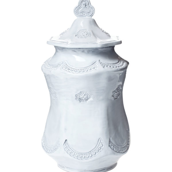 Vietri Incanto Lace Large Canister