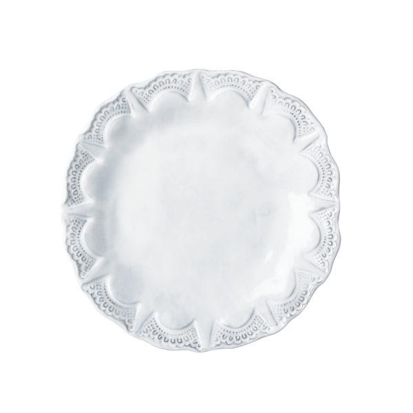 Vietri Incanto Lace Salad Plate