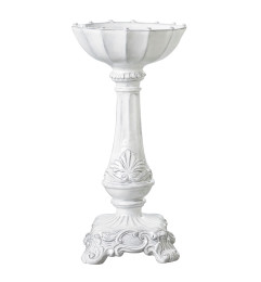 VIETRI INCANTO MEDIUM SQUARE FOOTED CANDLEHOLDER