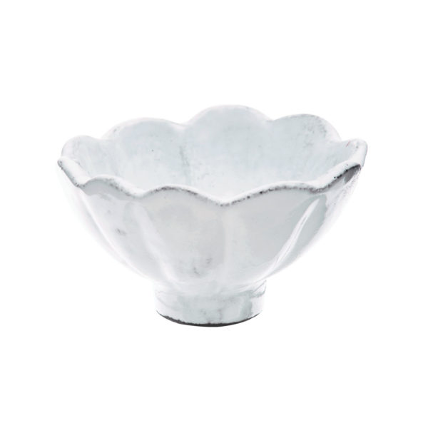 Vietri Incanto Scallop Condiment Bowl