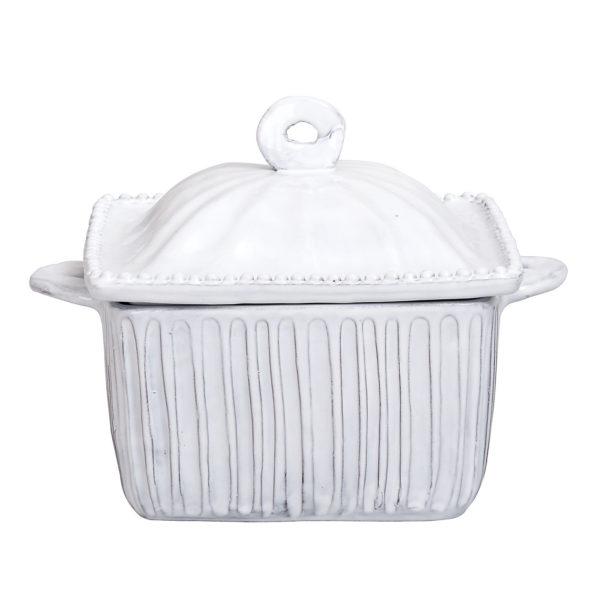 Vietri Incanto Stripe Square Oven Casserole Dish