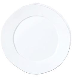 VIETRI LASTRA ROUND PLATTER WHITE