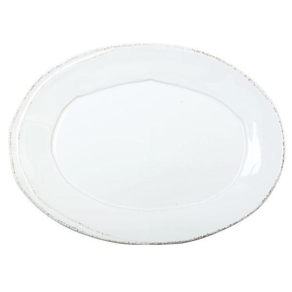 Vietri Lastra Small Oval Platter