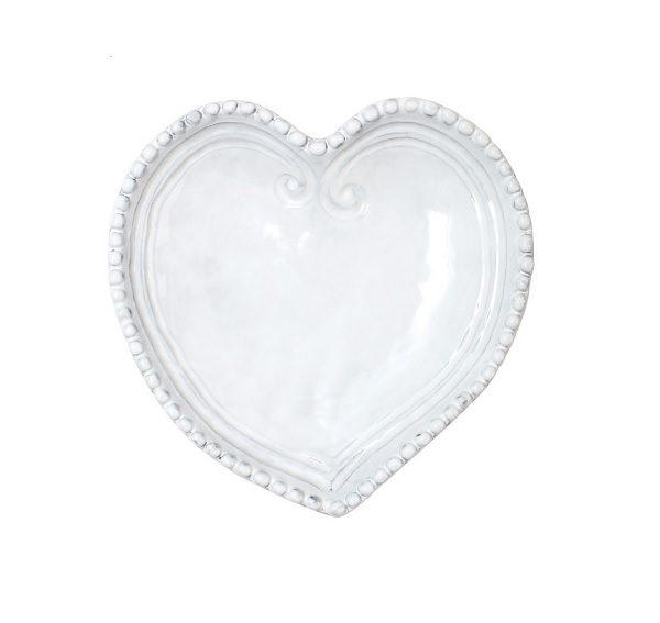 Vietri Incanto Heart Dish
