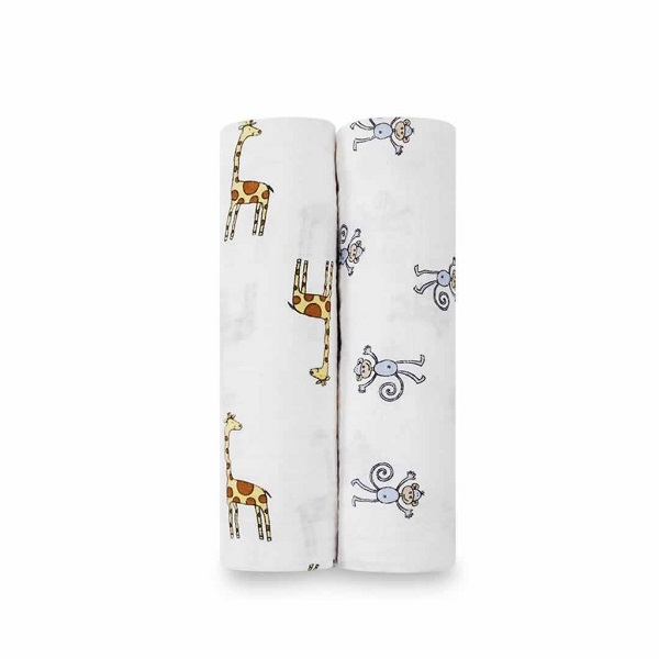 Aden + Anais Jungle Jam Classic Swaddle 2-Pack
