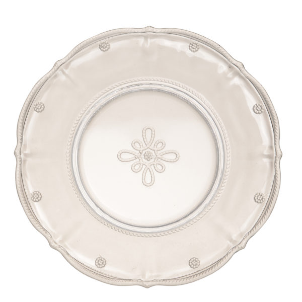 Juliska Colette Clear Dinner Plate