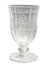 COLETTE FOOTED GOBLET CLEAR