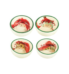 VIETRI OLD ST NICK ASSORTED CONDIMENT BOWLS