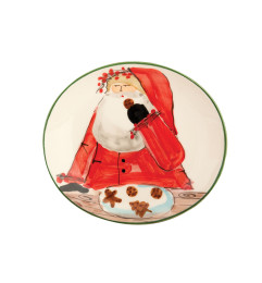 VIETRI OLD ST NICK COOKIE PLATE