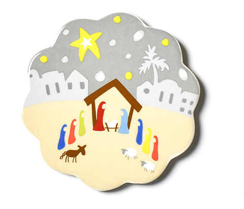 Happy Everything Rejoice Nativity Mini Attachment