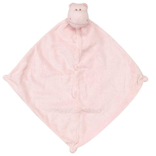 Angel Dear Pink Hippo Blankie