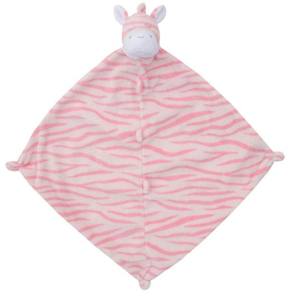 Angel Dear Pink Zebra Blankie