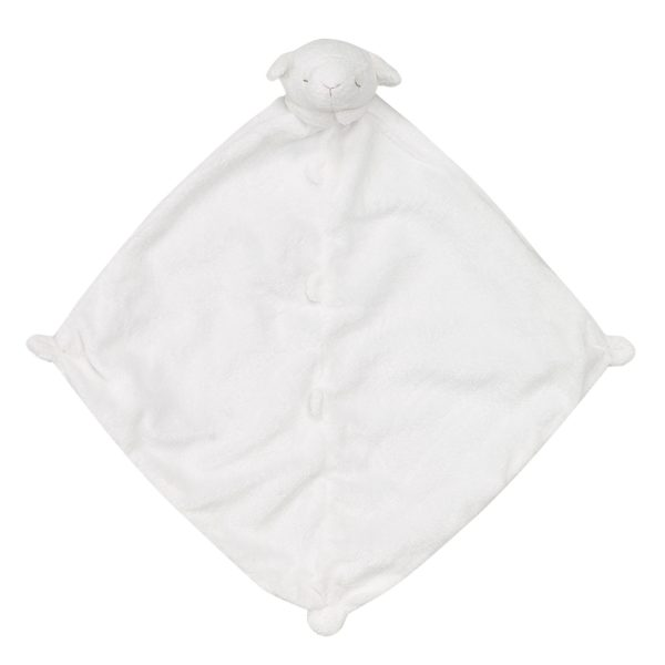 Angel Dear White Lamb Blankie