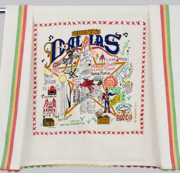 Catstudio City/Region Dish Towel