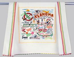 CATSTUDIO OKLAHOMA DISH TOWEL
