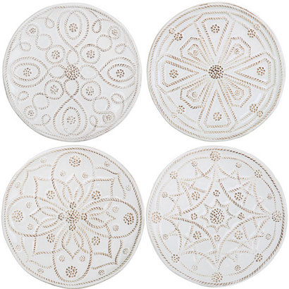Juliska Jardins Du Monde Cocktail Plate Set