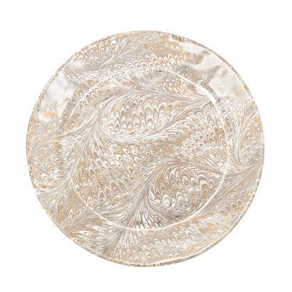 Juliska Firenze Medici Gold Charger Plate