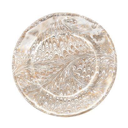 Juliska Firenze Medici Gold Salad Plate