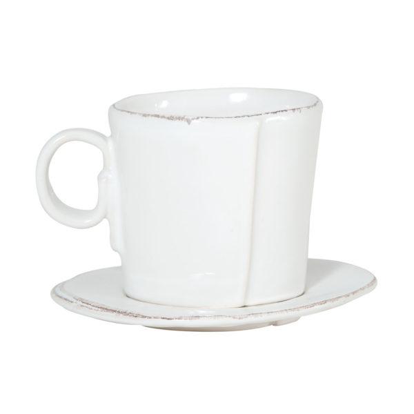 Vietri Lastra Espresso Cup And Saucer