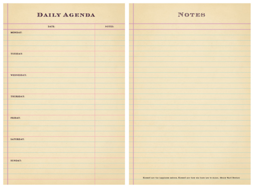 Daily Agenda My Blog – Daily Agenda