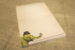 SUGARBOO ELEPHANT NOTEPAD